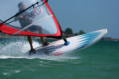 Windsurfer-BG Team. Royalty Free Stock Photos