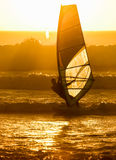 Windsurfer 2, Cape Town, Südafrika Stockfoto