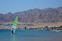 Windsurfer в Dahab Стоковое Фото