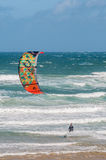 Windsurfer at Klein Brakrivier Royalty Free Stock Image
