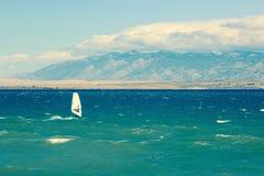 Windsurfer Royalty Free Stock Photo