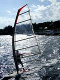 Windsurfer In Oslofjord Stock Photography