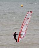 Windsurfer windsurfing Fotografia Royalty Free