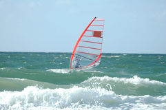 Windsurfer2 Photo stock