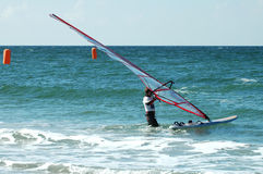 windsurfer5 fotografia stock