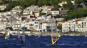 windsurfers Стоковая Фотография RF