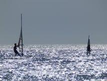 windsurfers στοκ φωτογραφία με δικαίωμα ελεύθερης χρήσης