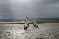 Windsurfers Stock Photography