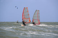 Windsurfers Photo stock