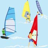 Windsurfers Zdjęcie Stock