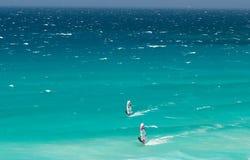windsurfers Cape Town Стоковая Фотография