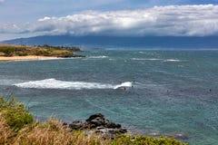 Windsurfers e esportes de água foto de stock