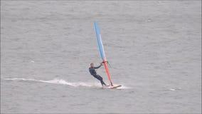 Windsurfers w szkoleniu zbiory