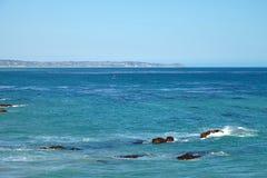 Windsurfing σε Malibu Στοκ εικόνες με δικαίωμα ελεύθερης χρήσης