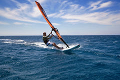 Windsurfing Stockfoto