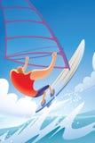windsurfing Стоковое Изображение RF