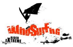 Windsurfing Lizenzfreie Stockbilder