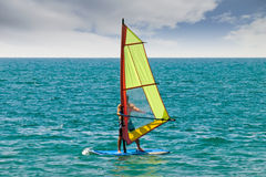 Windsurfing Obrazy Stock