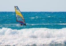 Windsurfing Zdjęcia Royalty Free