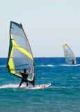 Windsurfing Foto de Stock
