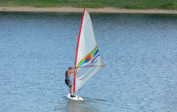 windsurfing Obraz Royalty Free