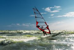 Windsurfing-2 Stock Photo