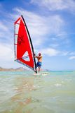 Windsurfing Royalty Free Stock Images