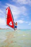 Windsurfing Obrazy Royalty Free