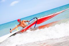 Windsurfing Stock Images