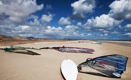 Windsurfing Obraz Stock