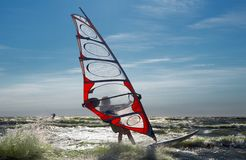 Windsurfing-3 Royalty Free Stock Photos
