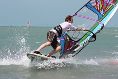 Windsurfing Stock Fotografie