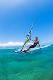 windsurfing Imágenes de archivo libres de regalías