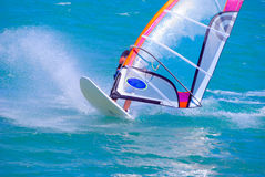 Windsurfing Stockfotos