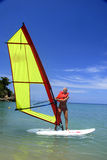WindSurfing Foto de Stock Royalty Free