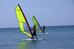 WindSurfing Immagine Stock