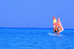 Windsurfing Zdjęcia Stock