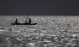 windsurfing stockbild