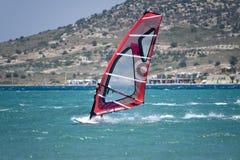 Windsurfing in Alacati Stock Photos