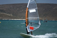 Windsurfing in Alacati Stock Photos