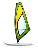 Windsurfing board Stock Photos