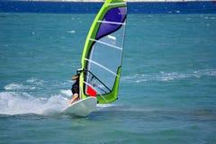 Windsurfing em Alacati Fotografia de Stock Royalty Free