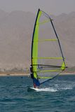 Windsurfing em Eilat Fotografia de Stock Royalty Free