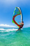 Windsurfing Royalty Free Stock Photos