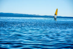 Windsurfing Stock Image