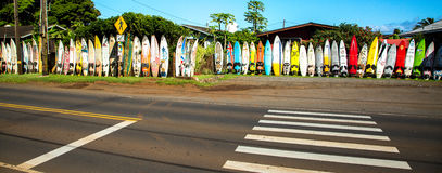 Windsurfing island of Maui. Royalty Free Stock Photography