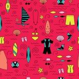Windsurfing kreskowe ikony Aktywny sporta projekta pojęcie royalty ilustracja