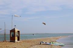 windsurfing Mar Rojo Egipto Dahab Fotografía de archivo