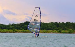 Windsurfing National Race Stock Images