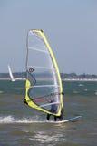 Windsurfing op Solent royalty-vrije stock fotografie